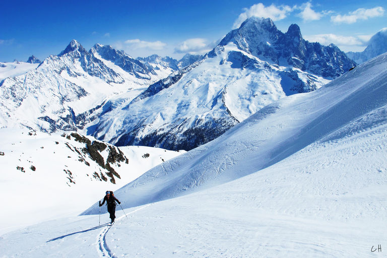 Spring Skiing - Les Aiguilles Rouges
